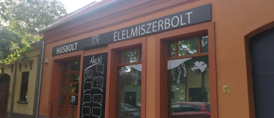 József Attila utcai hús- és élelmiszerbolt